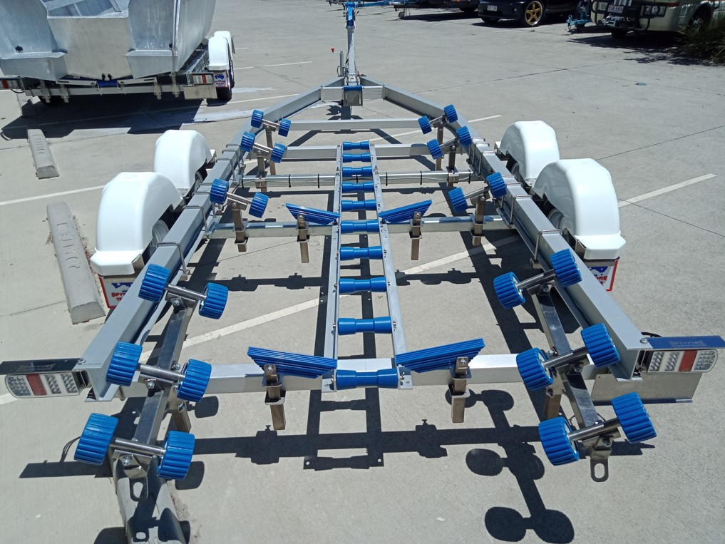 SF ladder rack and wobble rollers